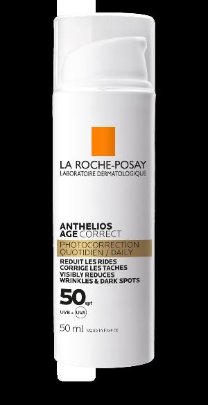 Anthelios creme anti-idade com proteção solar