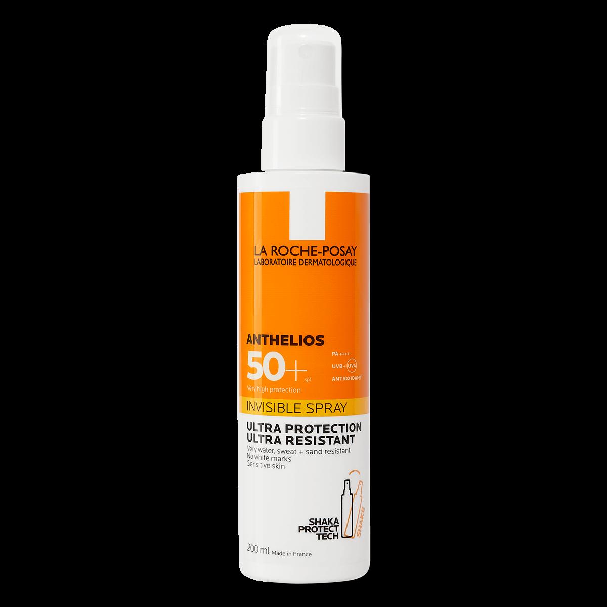 anthelios invisible spray protetor solar em spray invisível fps50+