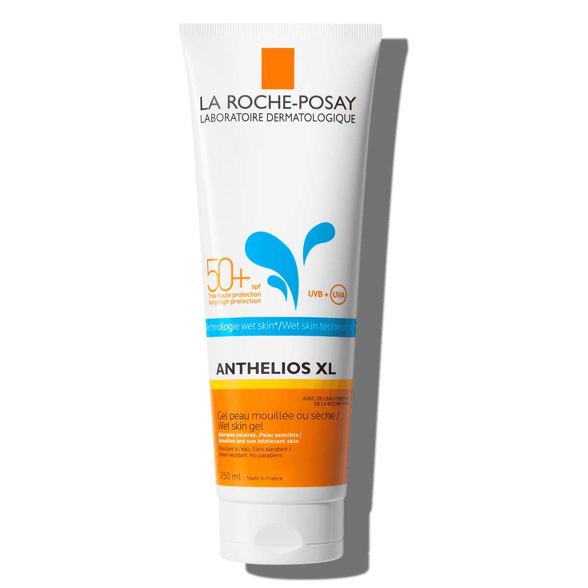 La Roche Posay ProductPage Sun Anthelios XL Wet Skin Gel Spf50 250ml 3
