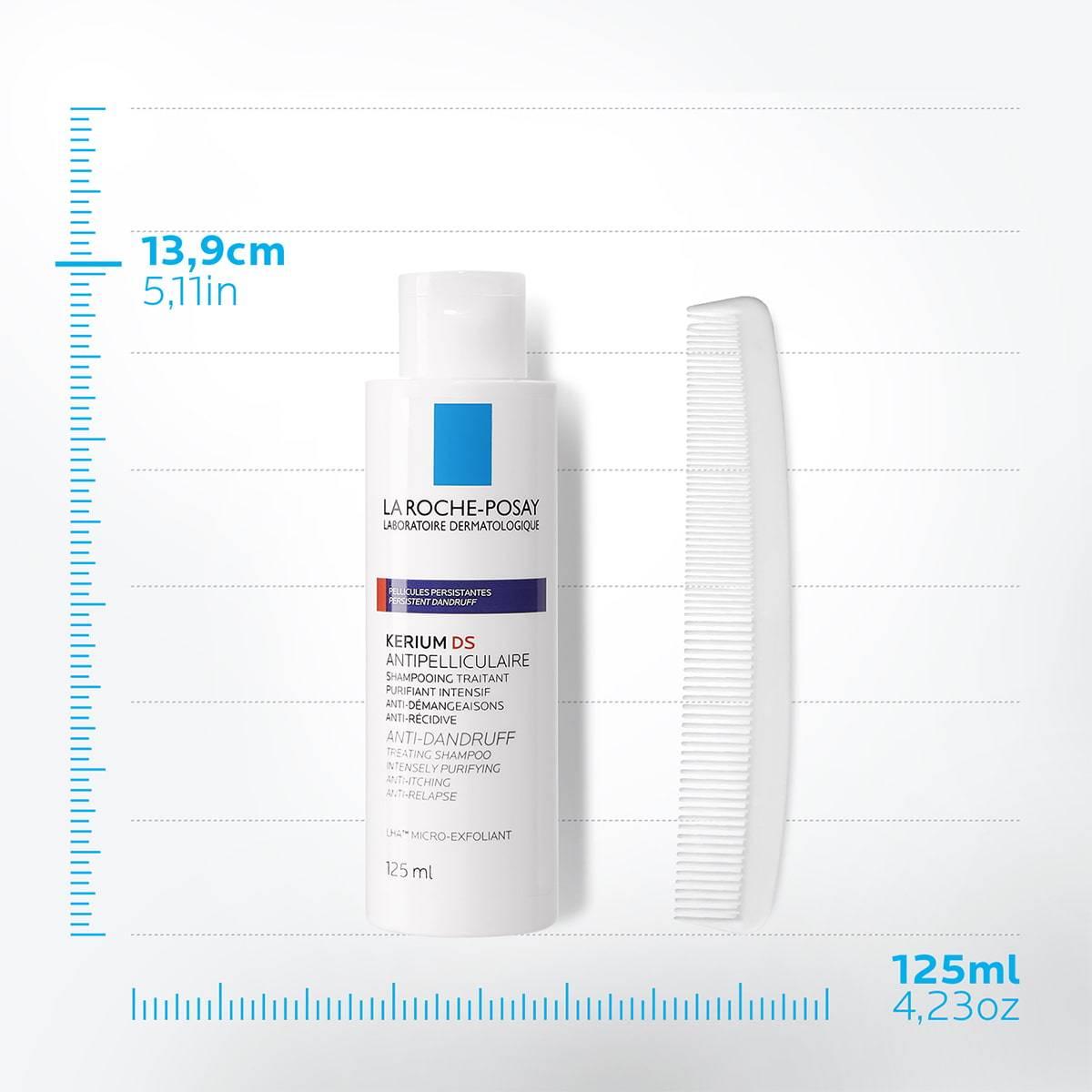 La Roche Posay ProductPage Kerium DS Anti Dandruff Treating Shampoo 12