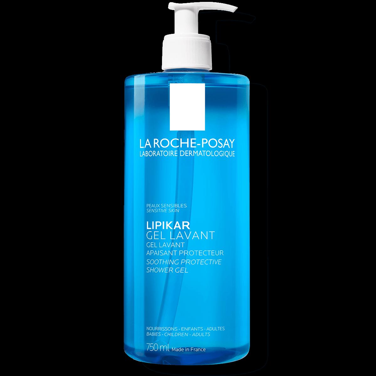 lipikar gel lavante apaziguante e protetor para pele sensível