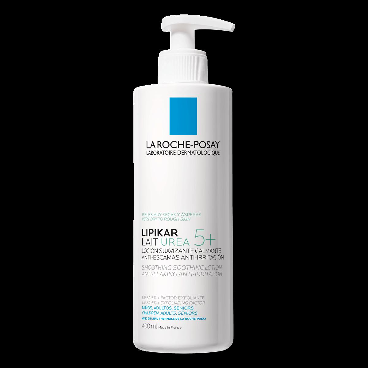 lipikar lait urea 5+ 400ml loção calmante anti-irritação