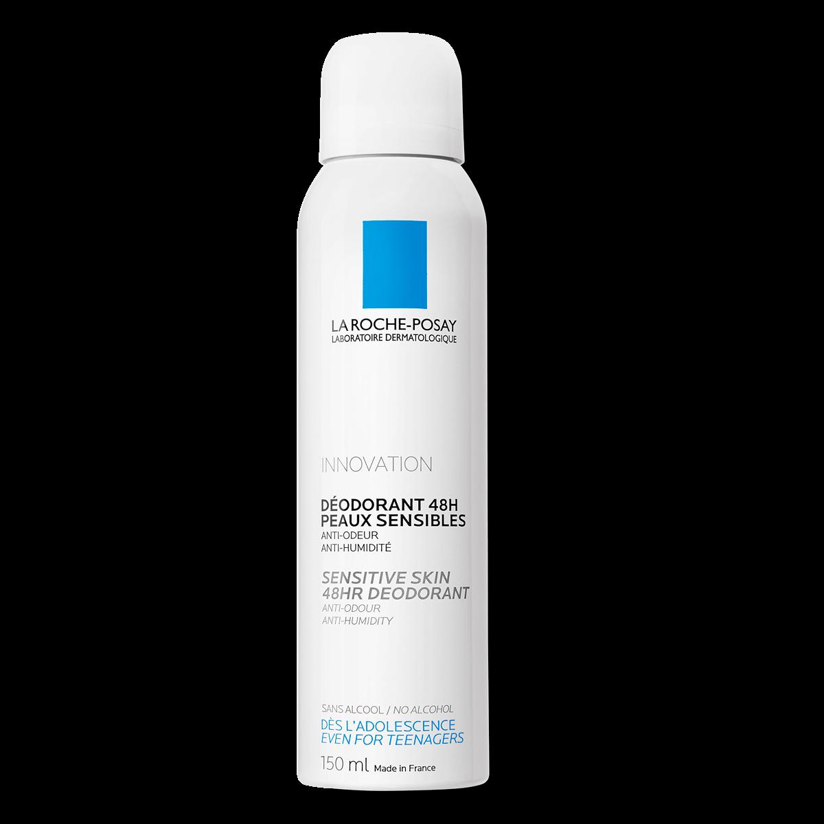 La Roche Posay ProductPage Deodorant 48h Sensitive Skin Spray Anti Odo