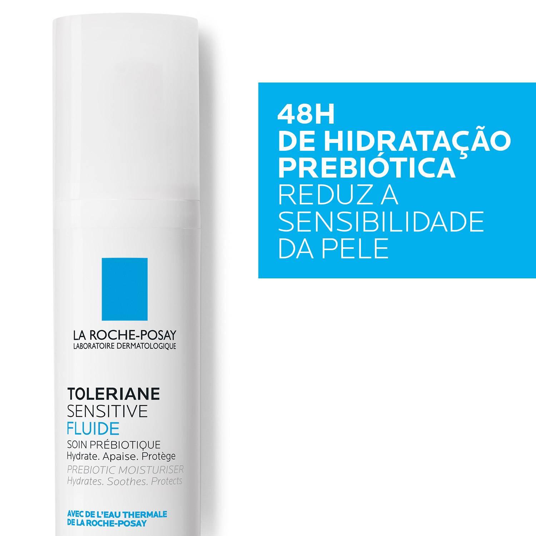 LaRochePosayFaceCareTolerianeSensitiveFluid40mlSoothingProtectiveEmuls