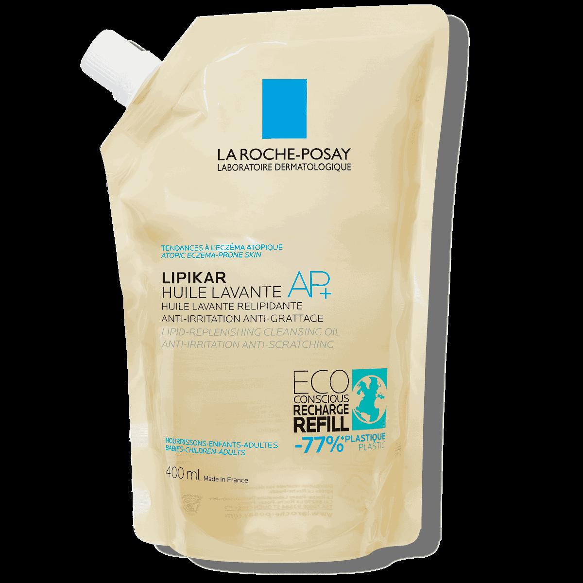 óleo lavante lipikar syndet ap+ eczema e pele atópica