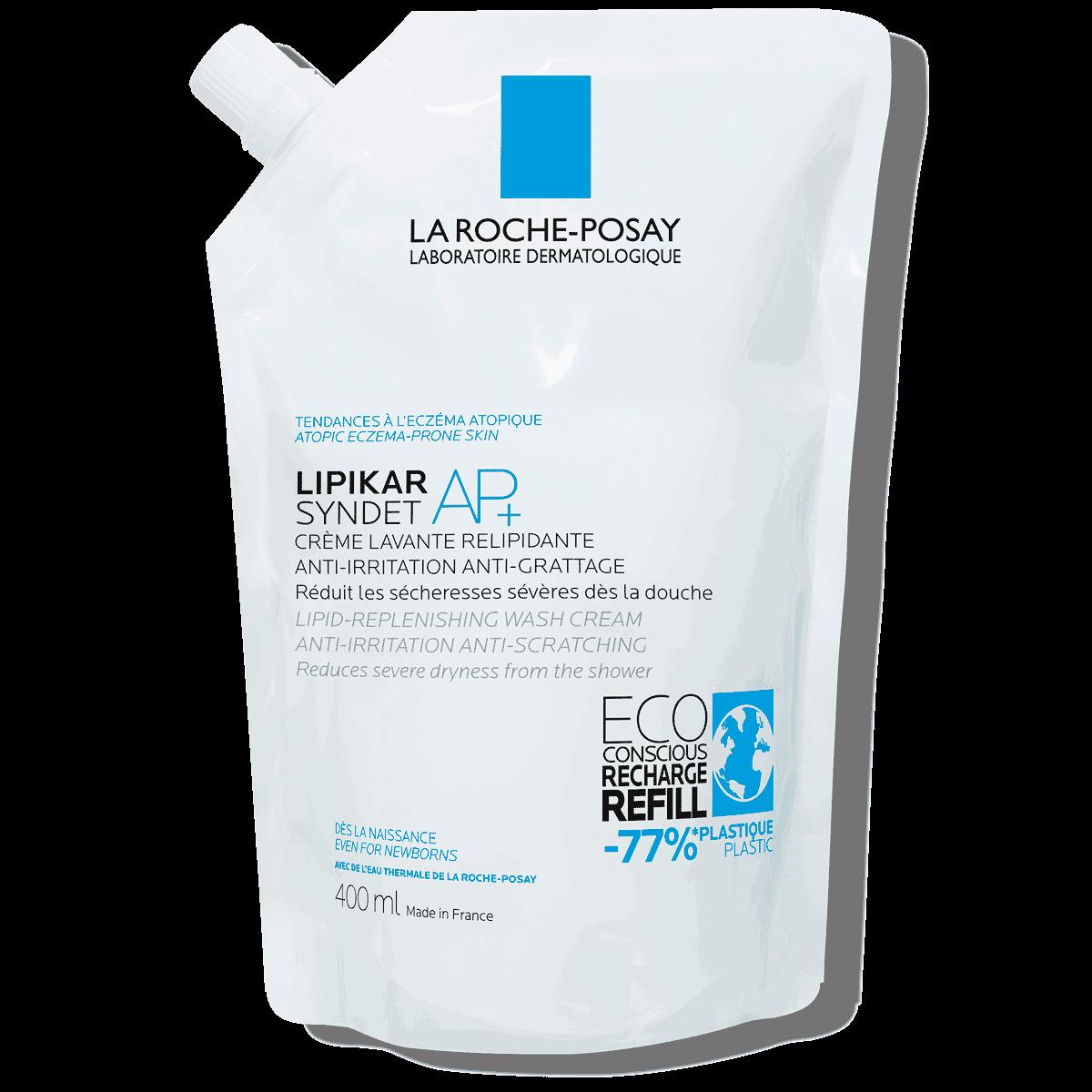 creme lavante eczema lipikar syndet ap+